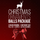 Christmas Ornaments Balls Package - VideoHive Item for Sale