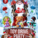 Toy Drive Party Flyer Template