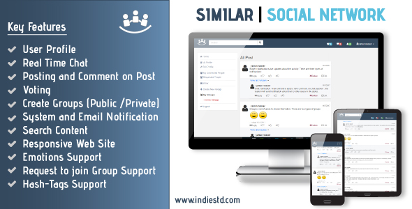 CodeCanyon Similar Social Network 20949372