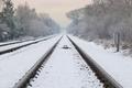 winter railroad - PhotoDune Item for Sale