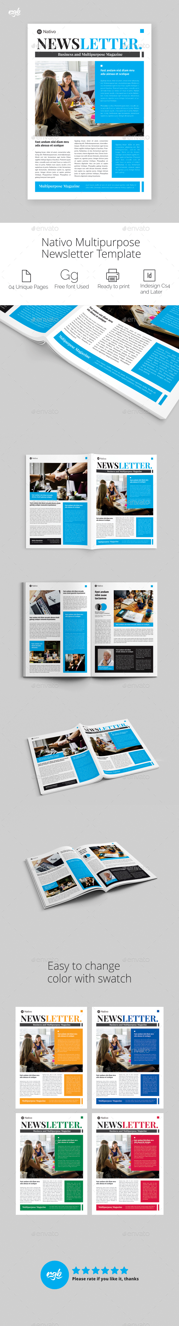 GraphicRiver Multipurpose Newsletter 21028246