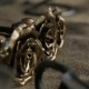 Forged Metal Product in the Form of Decorative Roses - VideoHive Item for Sale