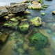 Long exposure of sea and rocks - PhotoDune Item for Sale
