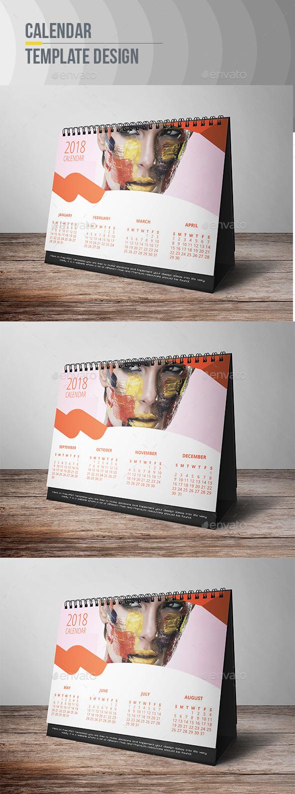 GraphicRiver Calendar Template 21028377