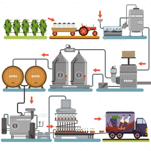 Wine Production Process - Industries Business