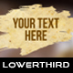 Old Paper Blot Lower Thirds - VideoHive Item for Sale