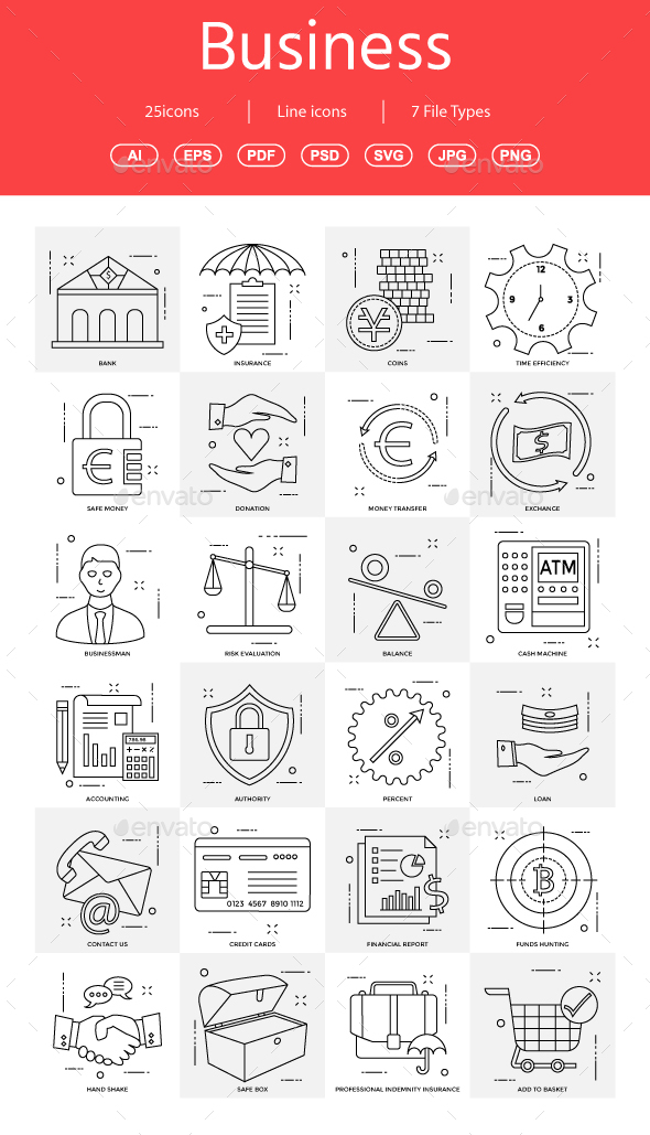 GraphicRiver 15& Vector Business Illustration vol 13 21028775