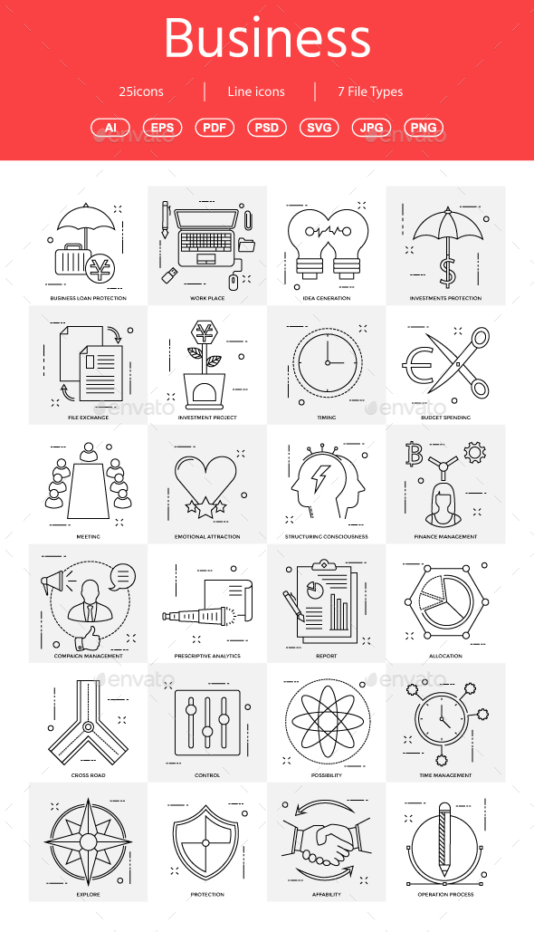 GraphicRiver 15& Vector Business Illustration vol 14 21028783