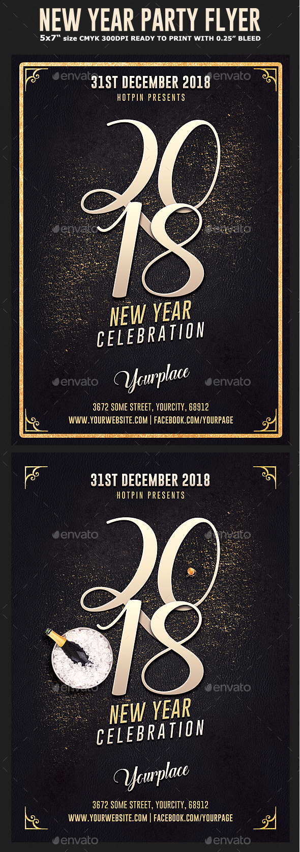 GraphicRiver New Years Eve Flyer Template 21028788