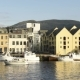 Colorful Sunset in Alesund Port Town - VideoHive Item for Sale