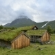 Norwegian Grass Roof Old House - VideoHive Item for Sale