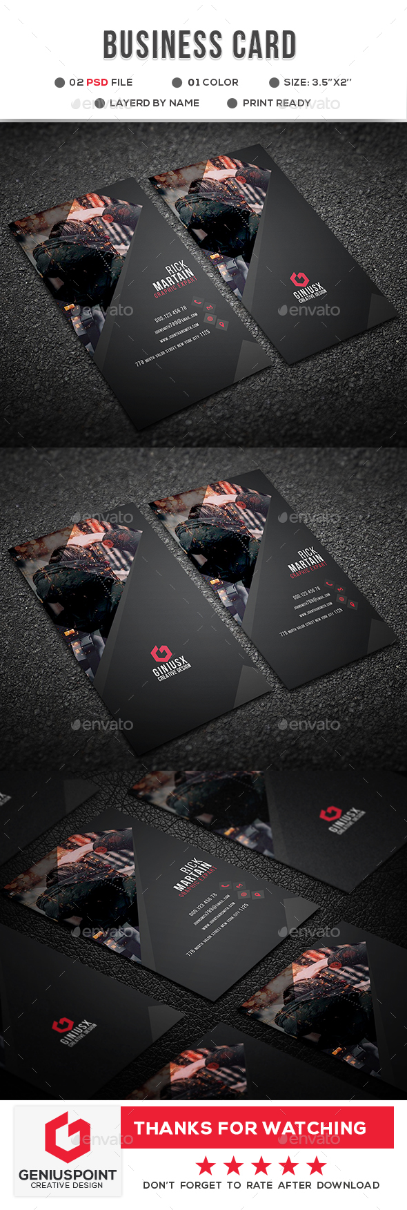 GraphicRiver Business Card 21029295