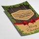 Red Ribbon Christmas Flyers - GraphicRiver Item for Sale