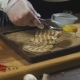 Chef Is Serving Grilled Squid with Lemon - VideoHive Item for Sale