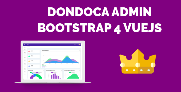 Download Dondoca - Admin Bootstrap4 VueJS