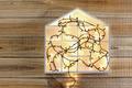 Fairy Lights and House Shape - PhotoDune Item for Sale