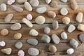 Rocks on Wooden Background - PhotoDune Item for Sale