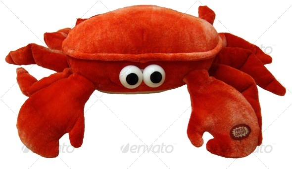 Dummy Crab - Activities & Leisure Isolated Objects