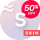 SKIN - Gradient-Powered Creative Blog & Shop WordPress Theme