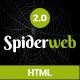 Spiderweb - Responsive Personal Portfolio Template
