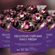 Cupcakes Bakery Menu Flyer - GraphicRiver Item for Sale