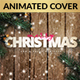 Animated Snowy Christmas Facebook Cover + Profile Template