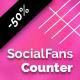 SocialFans - WP Responsive Social Counter Plugin