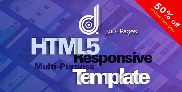 DNG - Responsive Multi-Purpose HTML5 Template