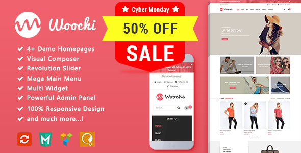 Image of Woochi - Fashion Responsive WooCommerce WordPress Theme