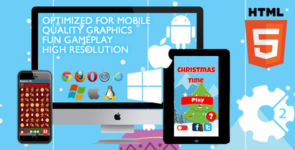 Download Christmas Time - HTML5 Game (Capx)