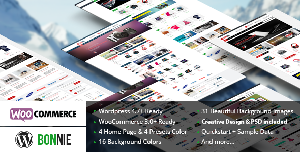 VG Bonnie - Creative WooCommerce WordPress Theme - WooCommerce eCommerce