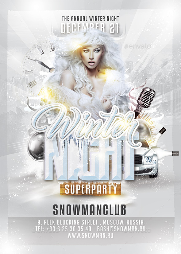 Winter Night Party - Clubs & Parties Events