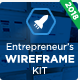 The Entrepreneur's Wireframe Kit - Keynote Version - GraphicRiver Item for Sale