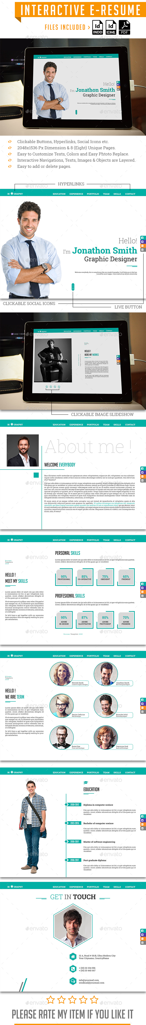 Interactive E-Resume - ePublishing