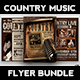 Country Music Flyer Bundle - GraphicRiver Item for Sale