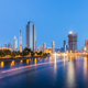tianjin cityscape of night scene - PhotoDune Item for Sale