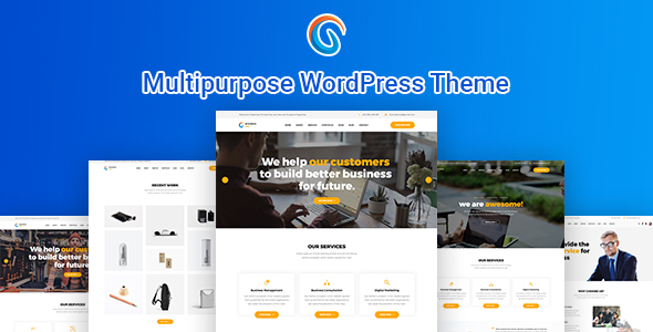 preview.  large preview - BizCop- Multipurpose WordPress Theme