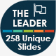 The Leader - Multipurpose Keynote Template - GraphicRiver Item for Sale