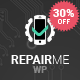 RepairMe - gadgets / home appliance repair workshop WordPress theme