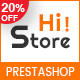 HiStore - Clean and Bright Responsive PrestaShop Theme - ThemeForest Item for Sale