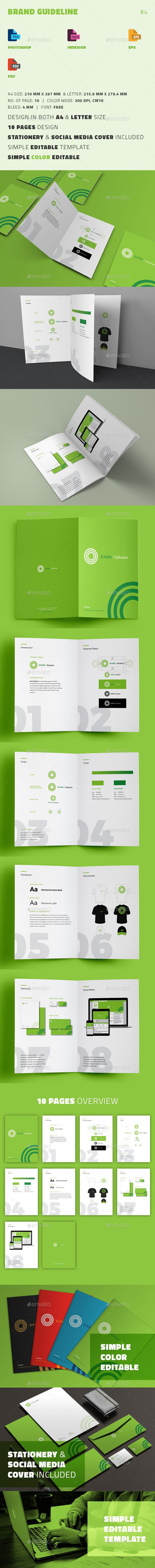 Brand Guideline - Informational Brochures
