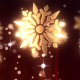 Christmas Snowflakes Golden - VideoHive Item for Sale