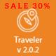 Traveler - Travel Booking WordPress Theme - ThemeForest Item for Sale