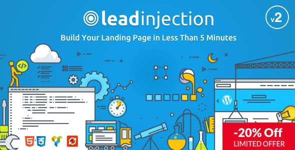 Leadinjection Landing Page Wordpress Theme
