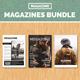 InDesign Magazines Bundle