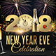 2018 NYE Flyer Template - GraphicRiver Item for Sale