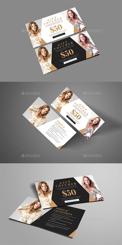 GraphicRiver Simple Fashion Gift Voucher 21031837