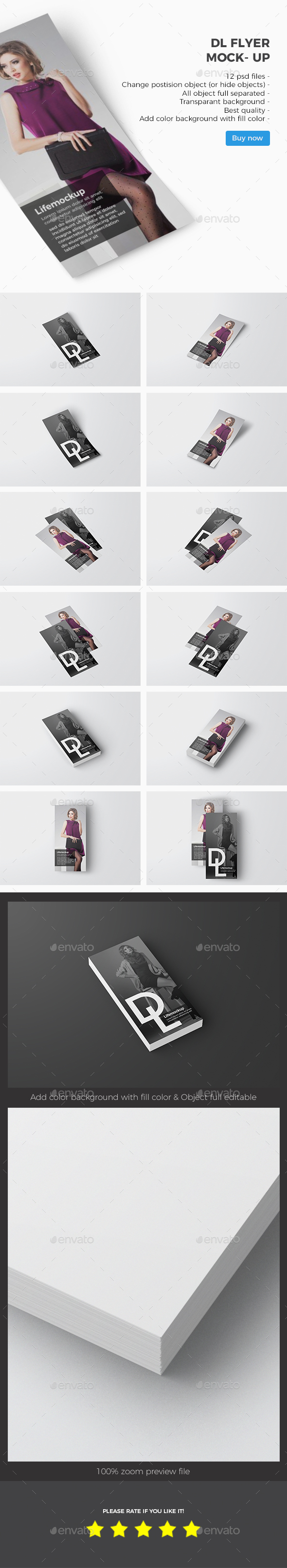 GraphicRiver DL Flyer Mockup 21031961