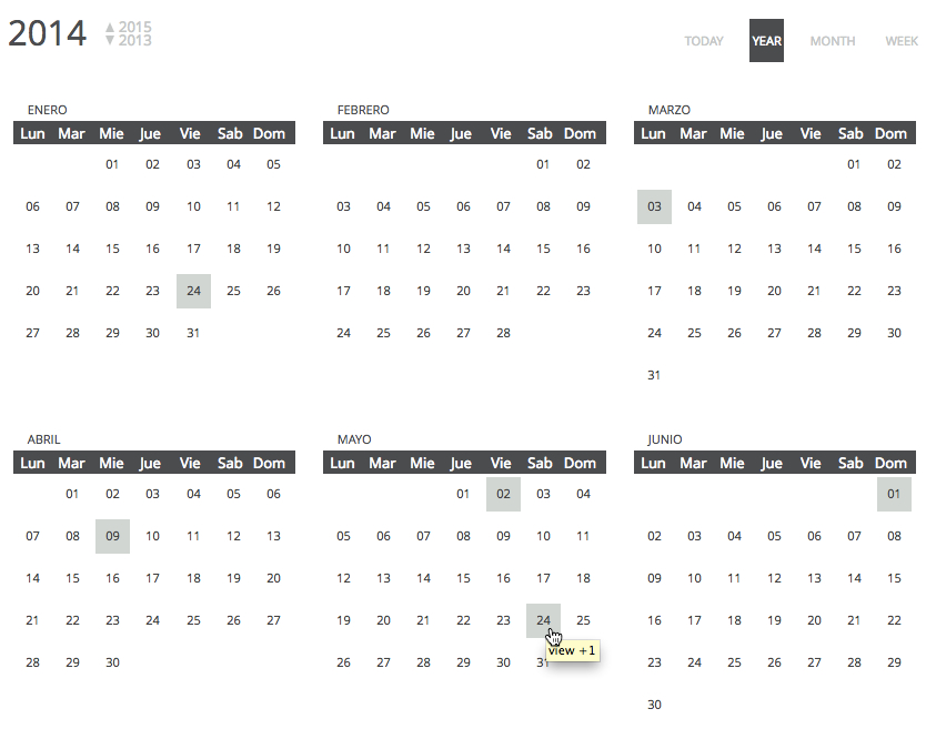 Chronosly Event Calendar Wordpress Plugin By Chronosly  Codecanyon
