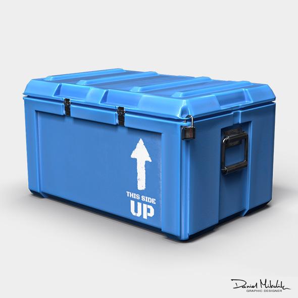 Equipment Case LOOT - PBR - 3DOcean Item for Sale